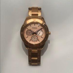 Fossil Rose Gold Stella Women's Watch